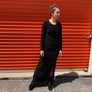 Bisou Bisou Michele Bohbot black dress